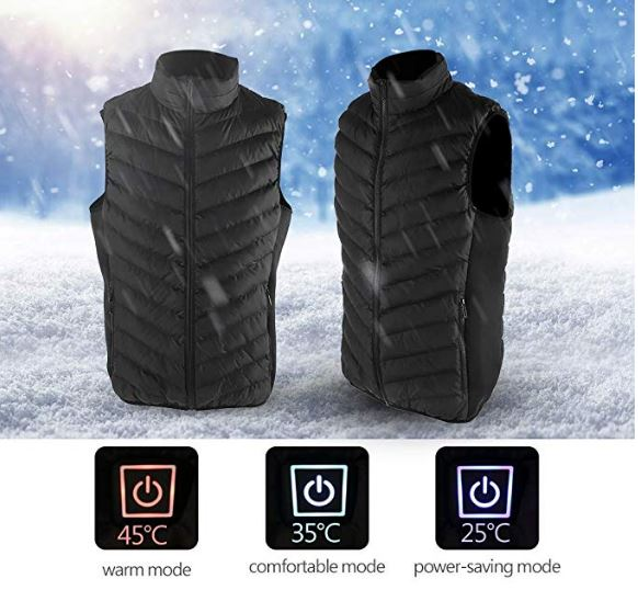 Heated & Rechargeable Men/women Jacket